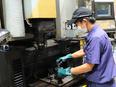 金型製造スタッフ ◎トヨタ車の部品製造に欠かせない技術を習得/平均勤続年数14年/基本土日休み2
