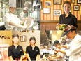 カフェやレストランの店舗スタッフ★面接1回!来年オープン予定多数!待遇充実の一部上場企業グループ!2