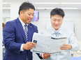 ミドル層の転職者が活躍中!入社3年目で年収1000万円も/営業2