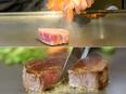 鉄板焼レストランの調理スタッフ2