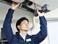 空調設備のトータルエンジニア ◎平均月収/2年目28万円、3年目37万円、4年目45万円2