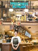バーガーカフェの店長候補|東証一部上場グループ ★首都圏エリア大規模積極採用!★産休育休取得実績あり1