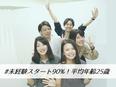 【Webデザイナー】未経験大募集★\残業月平均5h以下!年休125日!/3