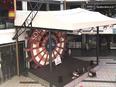 業務用テントの現場監督 ★商業施設や工場など幅広く使われるテントです。有名建築家とのコラボも。3