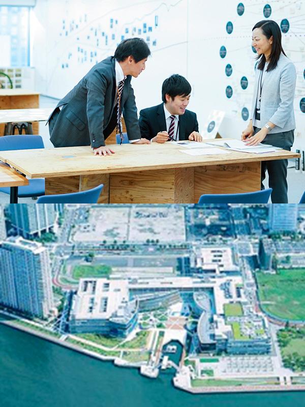 技術系総合職(建築/都市再生の企画立案や工事監理等)|産休育休復帰率100%、平均勤続年数17.1年イメージ1