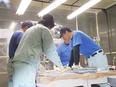 製造スタッフ ★5年以上にわたり定着率95%以上。2