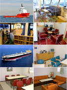 船の内装工事の施工管理 ◎年間休日128日!住宅手当3万円支給1