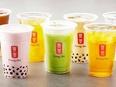 台湾ティーカフェ『ゴンチャ』の店長候補|関西エリアで新店オープン予定!月給27万500円以上2