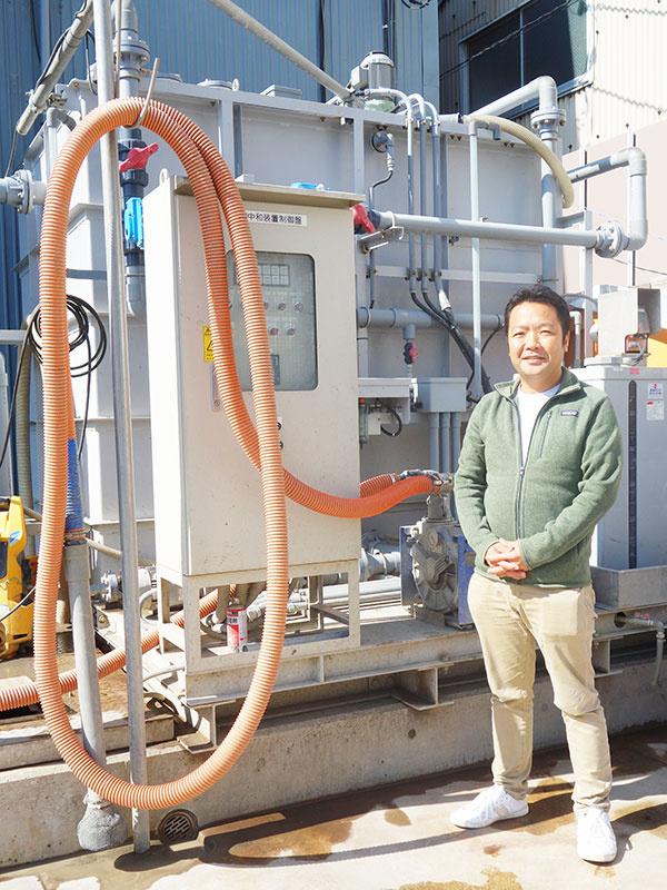 カッター濁水リサイクル施設の維持管理スタッフ◎残業ほぼなし/賞与年3回/3年連続業績UPの成長企業イメージ1
