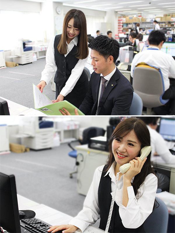 一般事務スタッフ ★ヤドカリのCMでおなじみの上場企業★未経験OK ★長期休み年4回イメージ1