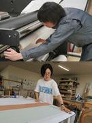 印刷物の制作オペレーター ◎アーティストの展覧会やスポーツイベントの装飾に関わります!1