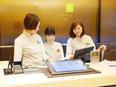 ホテルのフロントスタッフ<今年1月にオープンしたホテル/社員定着率97.3%/昨年度賞与約70万円>2