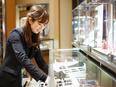 憧れのブランド時計やジュエリーの販売スタッフ【急募!】│新店舗オープンと業務拡大に伴う増員募集!2