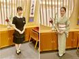 鰻・日本料理店の接客係 ◎江戸末期から多くの文化人に愛されてきたお店です。2
