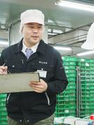 食品加工スタッフの管理 ◎創業42年の安定企業◎大手スーパーに並ぶ果物・野菜・花束を手がける工場勤務1