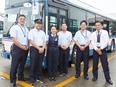 バスの運転士│有休取得率80%/普通免許(AT限定)でOK/社員食堂あり◎最長70歳まで勤務可!2