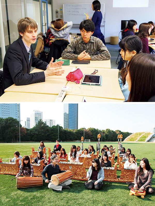神田外語グループの学校職員 ◎イノベーティブな人材を歓迎│教務事務や学校行事の企画運営など幅広く担当イメージ1