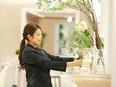 結婚式場のフラワーコーディネーター(未経験歓迎)★年間休日124日★東証一部上場企業★働きやすさ◎2