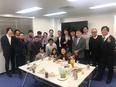 東証一部上場グループ★プロジェクト管理サポート★社員教育はマナー研修から★2年目平均月収30万円以上2